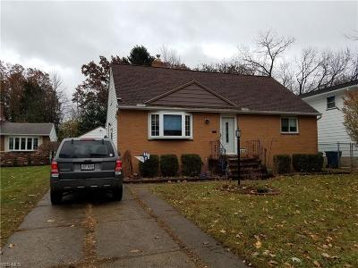 Parma Heights Single Family Home For Sale: 6279 Brookmere Dr