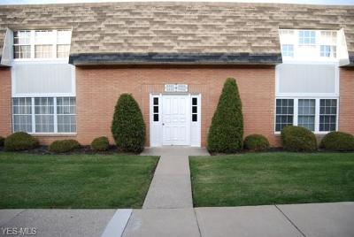 Middleburg Heights Condo/Townhouse For Sale: 6946 North Parkway Dr #6946