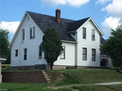 Guernsey County Multi Family Home For Sale: 133 South 11th St