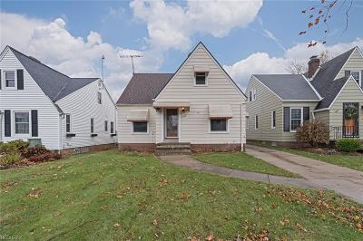 Single Family Home For Sale: 3259 West 142 St
