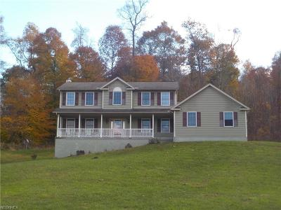 Muskingum County Single Family Home For Sale: 8250 Baker Rd