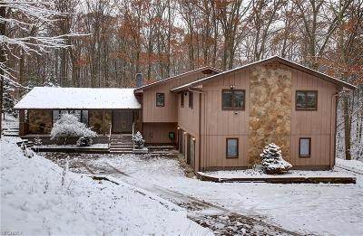 Medina County Single Family Home For Sale: 2124 Hinckley Hills Rd
