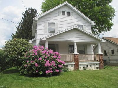 Struthers Single Family Home For Sale: 45 Wilson St