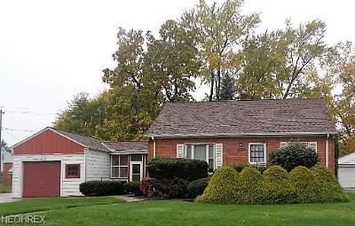 Mayfield Heights Single Family Home For Sale: 1342 Commonwealth Ave