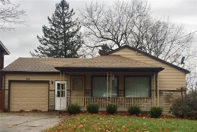 Campbell OH Single Family Home For Sale: $69,900