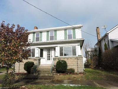 Leetonia OH Single Family Home For Sale: $59,900