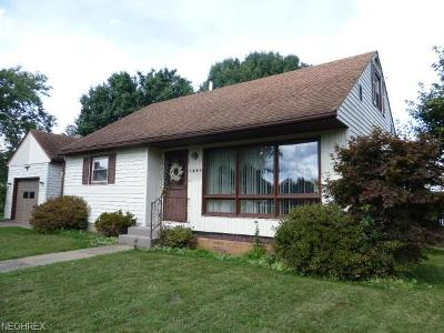 Guernsey County Single Family Home For Sale: 1361 Rochester Ave