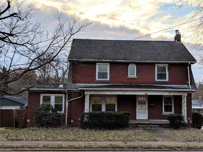 Single Family Home For Sale: 407 West Lincolnway