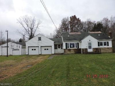 Berlin Center OH Single Family Home For Sale: $74,900