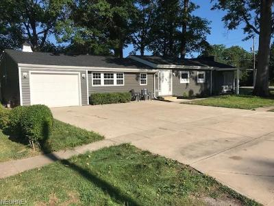 Single Family Home For Sale: 32657 Lake Rd