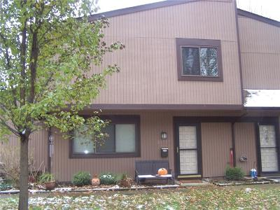 Olmsted Falls Condo/Townhouse For Sale: 26727 Lake Of The Falls Blvd