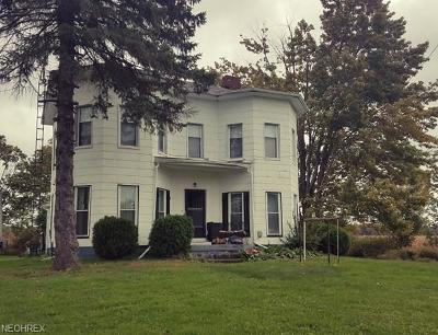 Jefferson Single Family Home For Sale: 3172 State Route 46