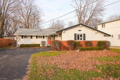 Mentor-On-The-Lake OH Single Family Home For Sale: $125,000