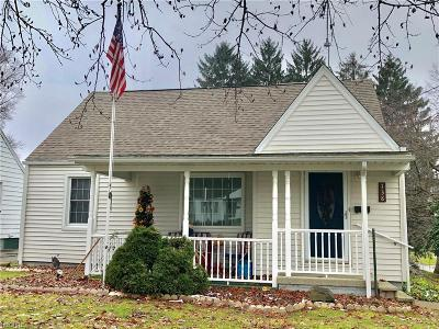 Hubbard Single Family Home For Sale: 138 Elmwood Dr