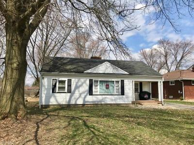 Youngstown Single Family Home For Sale: 352 Colonial Dr