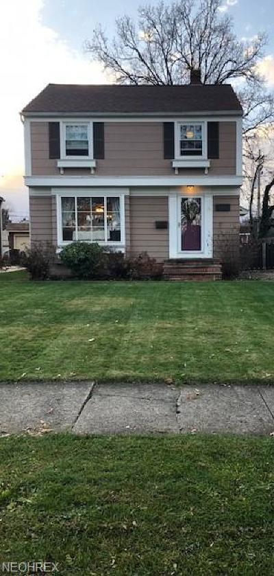 Cleveland Single Family Home For Sale: 3472 West 159th St