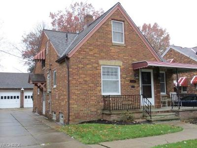 Cleveland Single Family Home For Sale: 4601 Biddulph Ave