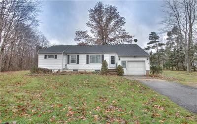 Leroy Single Family Home For Sale: 14738 Balch Rd