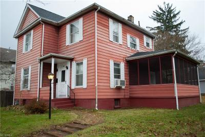 Guernsey County Single Family Home For Sale: 226 North 10th St