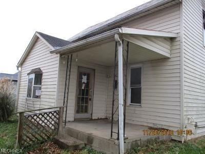 Guernsey County Single Family Home For Sale: 107 North 9th St