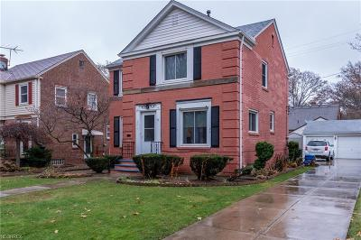 Cleveland OH Single Family Home For Sale: $219,500