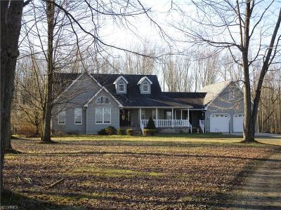Ashtabula County Single Family Home For Sale: 5144 Us Route 6