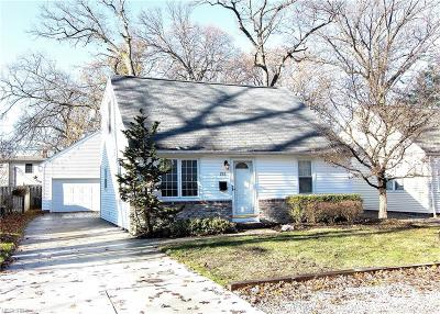 Avon Lake Single Family Home For Sale: 252 South Point Dr