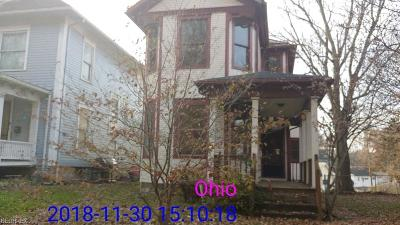 Zanesville OH Single Family Home For Sale: $25,700