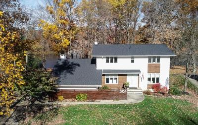 Geauga County Single Family Home For Sale: 8733 Lake Forest Trl