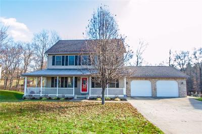 Muskingum County Single Family Home For Sale: 3952 Litho Ln