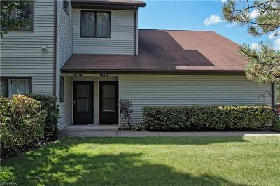 Mentor Condo/Townhouse For Sale: 7171 Village Dr