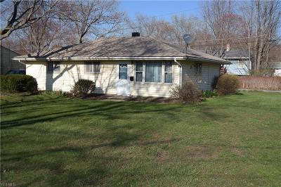 Madison OH Single Family Home For Sale: $113,900