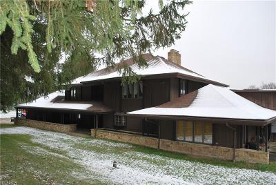 Chardon Single Family Home For Sale: 9940 Chardon Rd