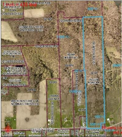 Conneaut Residential Lots & Land For Sale: Hatches Corners Rd