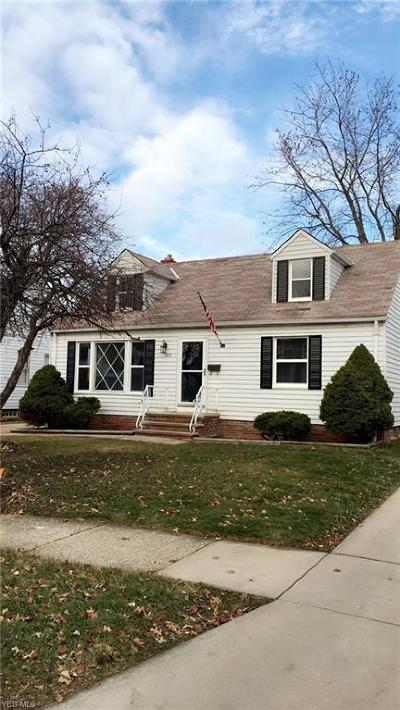 Willowick Single Family Home For Sale: 239 East 329th St