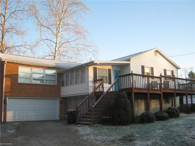 Muskingum County Single Family Home For Sale: 6075 Duncan Run Rd