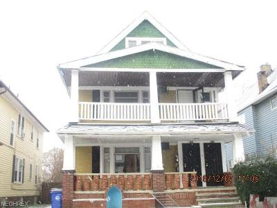 Cleveland Multi Family Home For Sale: 646 East 130th St