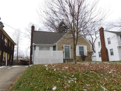 Youngstown Single Family Home For Sale: 2242 Cordova Ave