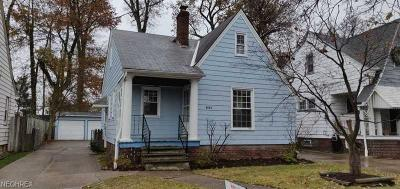 Cleveland OH Single Family Home For Sale: $89,900