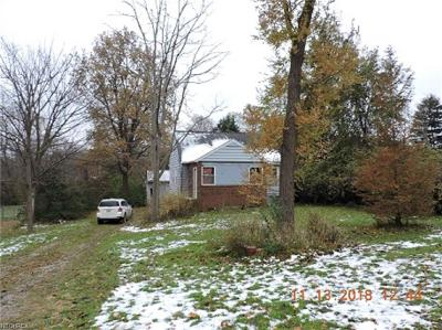 Perry OH Single Family Home For Sale: $54,900
