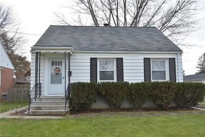 Elyria OH Single Family Home For Sale: $81,900