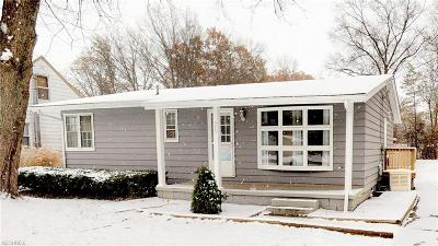 Painesville Township OH Single Family Home For Sale: $129,900