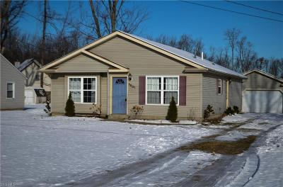 Madison OH Single Family Home For Sale: $124,900