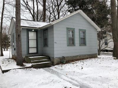Mentor OH Single Family Home For Sale: $70,000