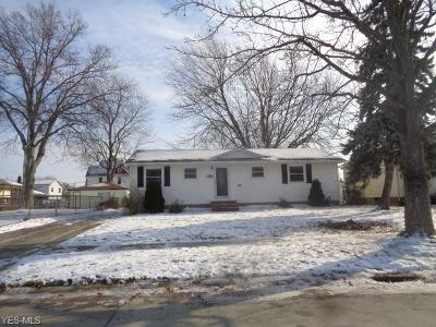 Eastlake OH Single Family Home For Sale: $134,900