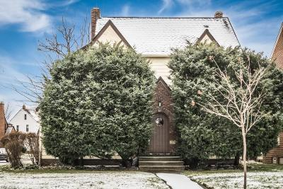 Euclid Single Family Home For Sale: 19190 South Lakeshore Blvd