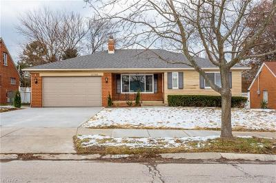 Fairview Park Single Family Home For Sale: 21760 Robinhood Ave