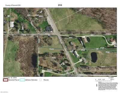 Copley Residential Lots & Land For Sale: 2110 South Cleveland Massillon Rd