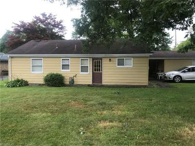 Youngstown Single Family Home For Sale: 4028 Sheridan Rd