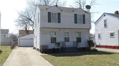 Cleveland Single Family Home For Sale: 17326 Talford Ave